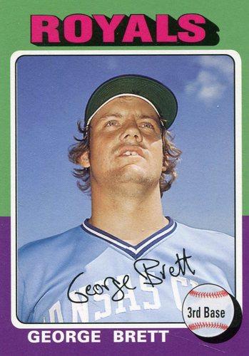 Photo of 2006 Topps Rookie of the Week #12 George Brett 1975