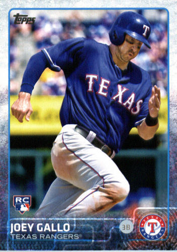 Photo of 2015 Topps Update #US103A Joey Gallo RC