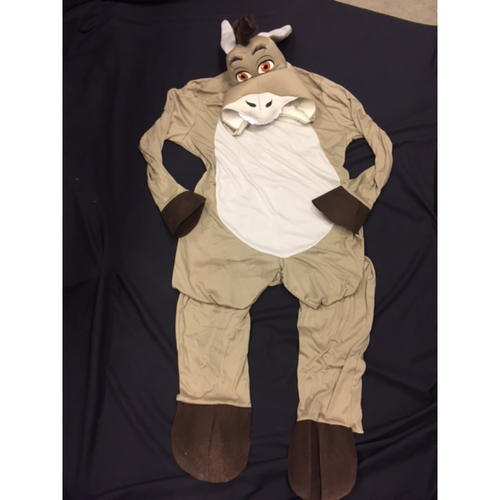 Photo of Joey Votto -- Donkey Costume Worn by Joey Votto While Campaigning for Zack Cozart to be Elected as a Starter in the 2017 All-Star Game