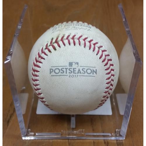 Photo of NLDS Game 5 Game-Used Baseball: Anthony Rendon Single