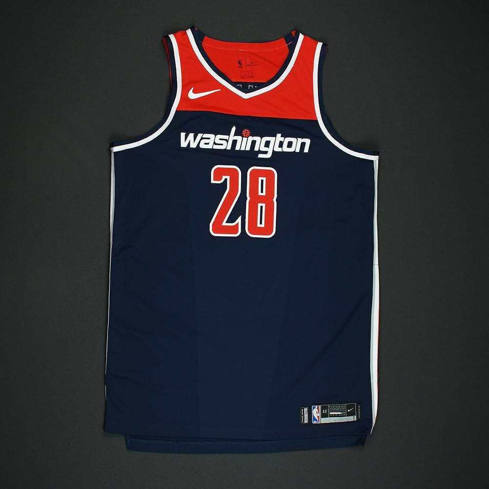 Ian Mahinmi - Washington Wizards - 2018 NBA Playoffs Game-Worn 'Statement' Jersey