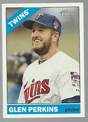 Photo of 2015 Topps Heritage #416 Glen Perkins