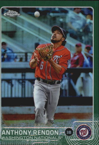 Photo of 2015 Topps Chrome Green Refractors #62 Anthony Rendon