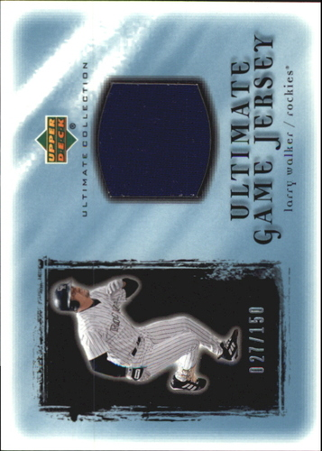 Photo of 2001 Ultimate Collection Game Jersey #ULW Larry Walker