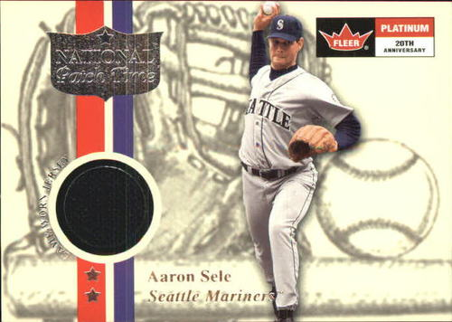 Photo of 2001 Fleer Platinum National Patch Time #55 Aaron Sele S2
