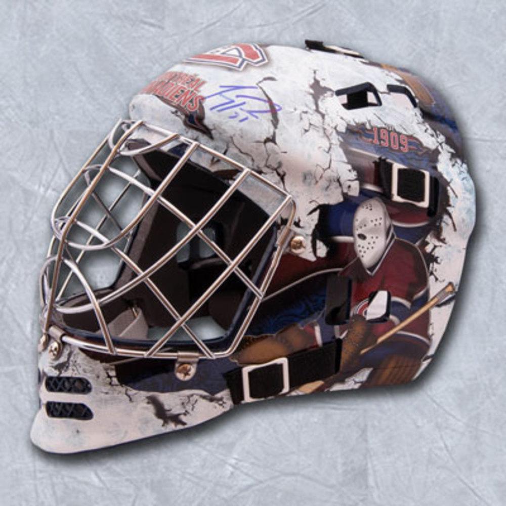 Carey Price Montreal Canadiens Autographed Franklin SX Comp GFM 100 Goalie Mask