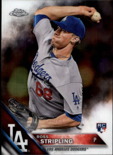 Photo of 2016 Topps Chrome #93 Ross Stripling RC