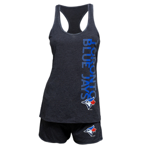 Toronto Blue Jays Women's Latitude Sleep Set by Concepts Sport