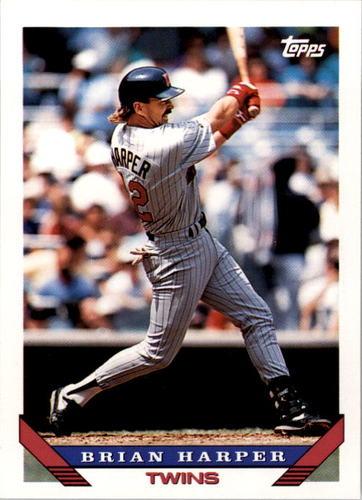 Photo of 1993 Topps #389 Brian Harper