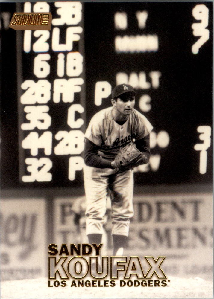 2016 Stadium Club Gold #13 Sandy Koufax