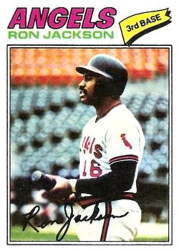 Photo of 1977 Topps #153 Ron Jackson RC
