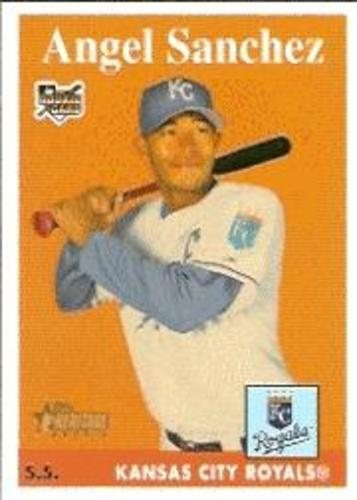 Photo of 2007 Topps Heritage #302 Angel Sanchez SP RC