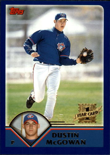 Photo of 2003 Topps Traded #T255 Dustin McGowan  FY RC