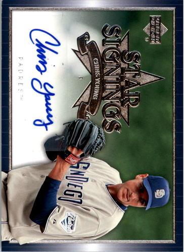 Photo of 2007 Upper Deck Star Signings #YO Chris Young S2