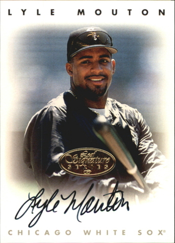 Photo of 1996 Leaf Signature Autographs Gold #162 Lyle Mouton