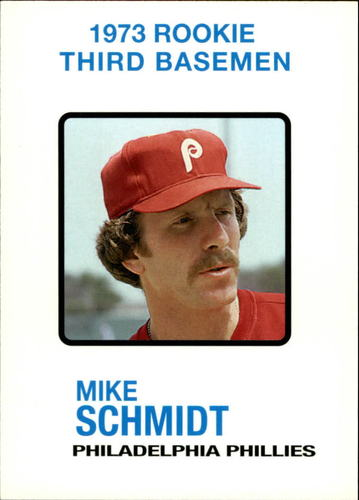 Photo of 2006 Topps Rookie of the Week #17 Mike Schmidt 1973