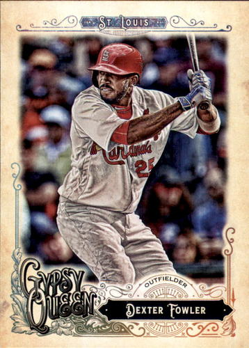 Photo of 2017 Topps Gypsy Queen #17 Dexter Fowler