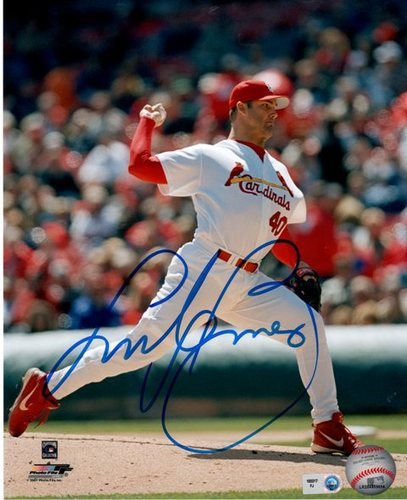 Andy Benes Autographed 8x10