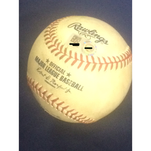 Photo of Albert Pujols Game-Used Baseball - 604 Career Double, Surpasses Ripken
