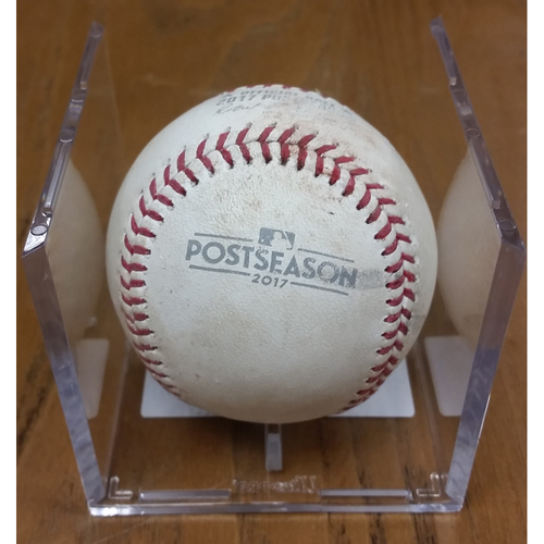 Photo of NLDS Game 5 Game-Used Baseball: Jayson Werth Double