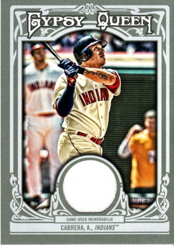 Photo of 2013 Topps Gypsy Queen Relics #AC Asdrubal Cabrera
