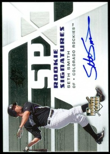 Photo of 2008 SPx Silver #113 Seth Smith AU