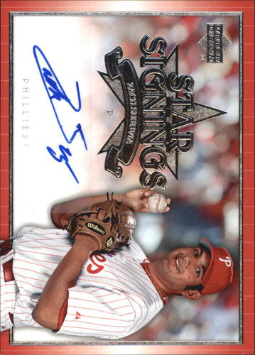 Photo of 2007 Upper Deck Star Signings #ZS Zack Segovia S2