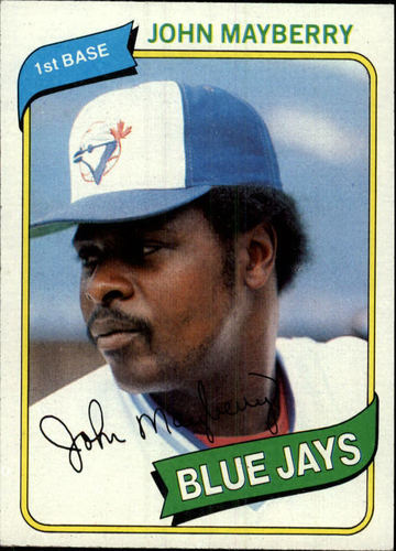 Photo of 1980 Topps #643 John Mayberry