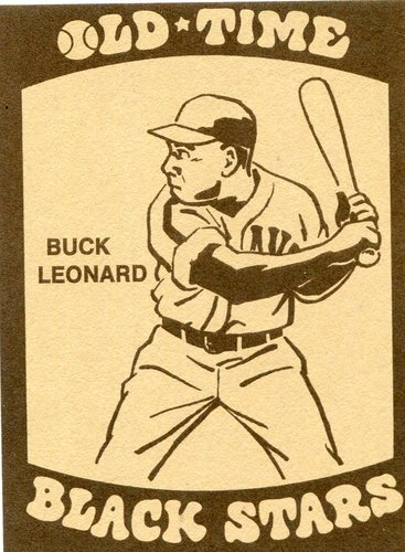 Photo of 1974 Laughlin Old Time Black Stars #11 Buck Leonard