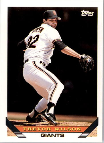 Photo of 1993 Topps #364 Trevor Wilson