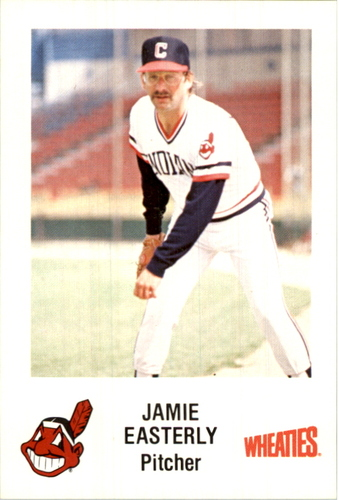 Photo of 1984 Indians Wheaties #36 Jamie Easterly