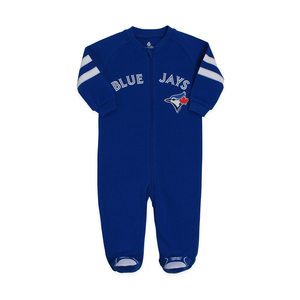 Toronto Blue Jays Newborn Sleeper by Snugabye