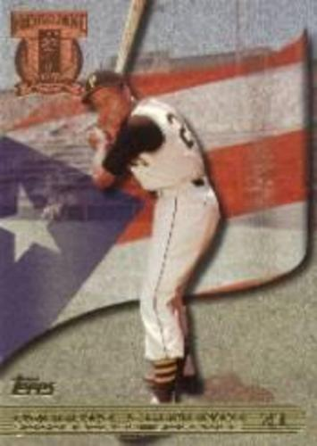 Photo of 1998 Topps Clemente Tribute #RC2 Roberto Clemente/Posed batting shot