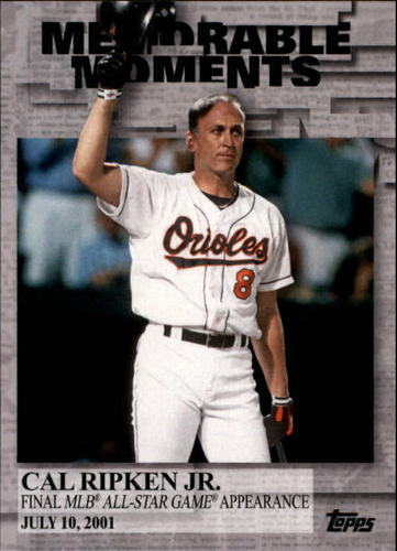 Photo of 2017 Topps Memorable Moments #MM49 Cal Ripken Jr.
