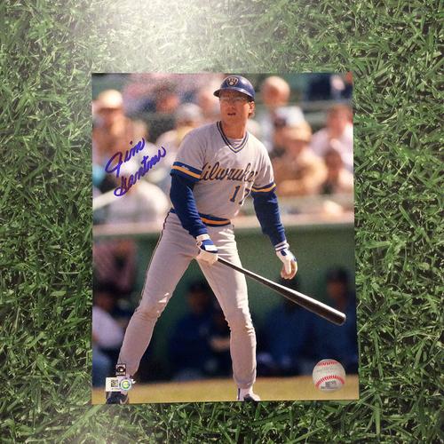 Jim Gantner Autographed 8