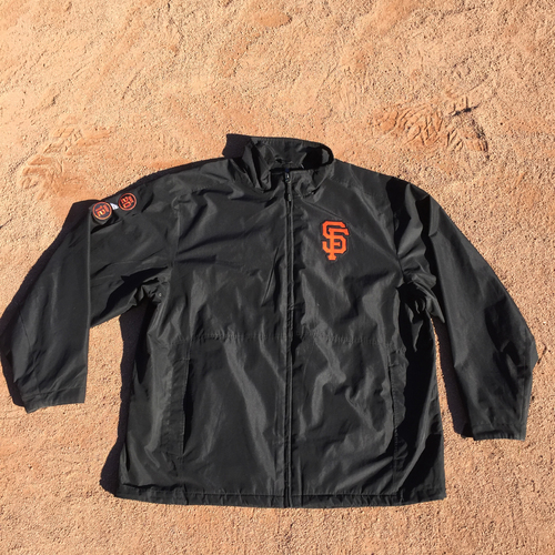 Photo of San Francisco Giants - Game-Used Jacket - Mark Gardner - Worn during 2016 season