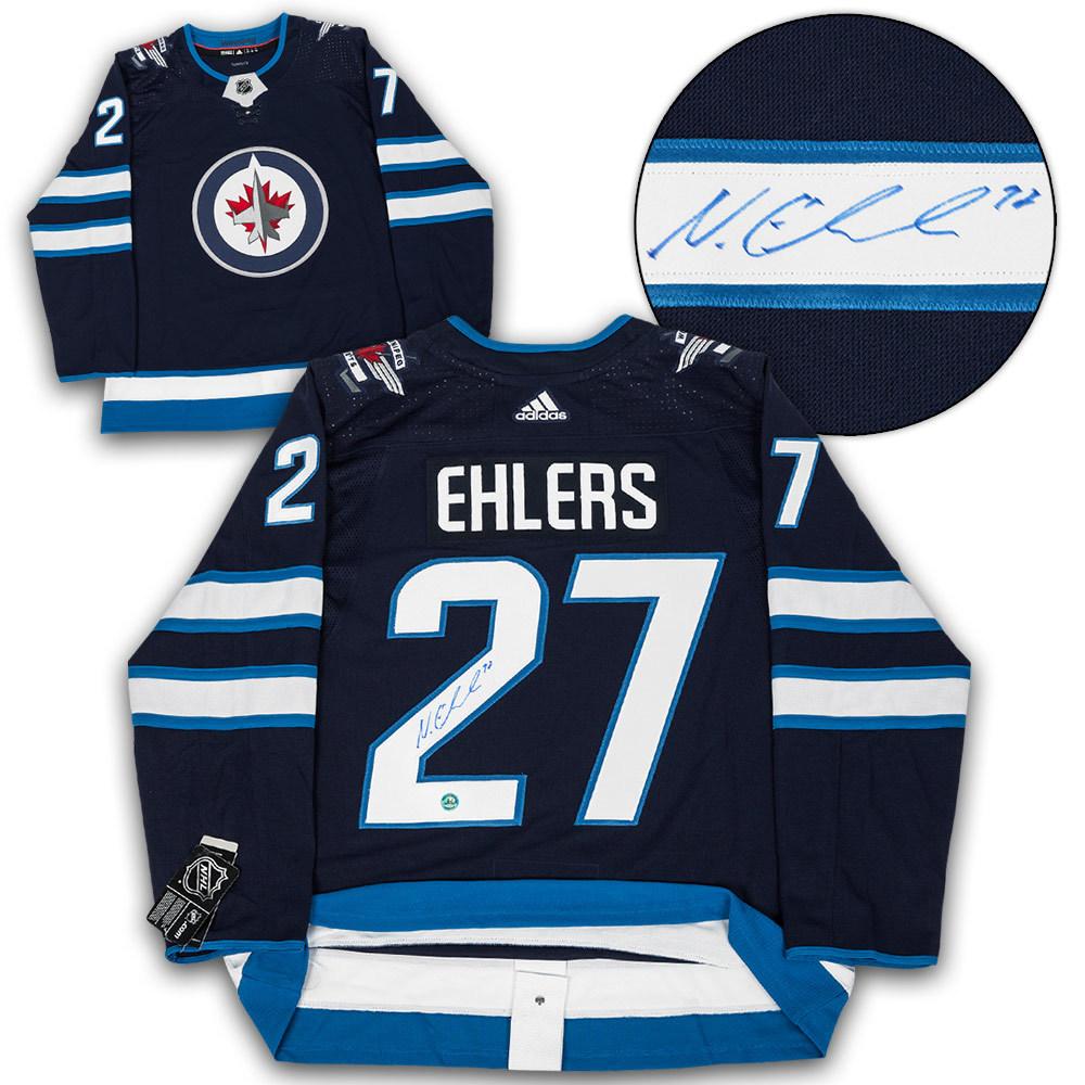 Nikolaj Ehlers Winnipeg Jets Autographed Adidas Authentic Hockey Jersey