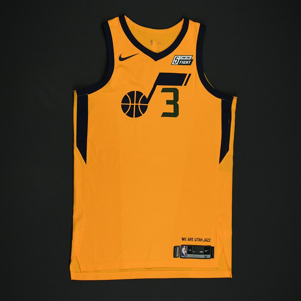 Ricky Rubio - Utah Jazz - Game-Worn 'Statement' Jersey - 2017-18 Season