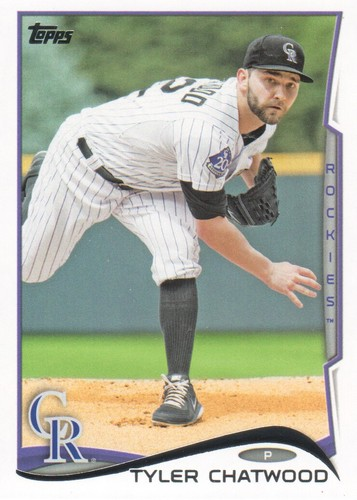 Photo of 2014 Topps #380 Tyler Chatwood