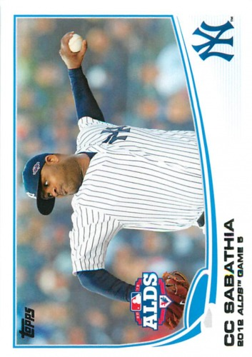 Photo of 2013 Topps #283 CC Sabathia