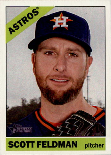 Photo of 2015 Topps Heritage #407 Scott Feldman