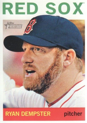 Photo of 2013 Topps Heritage #368 Ryan Dempster