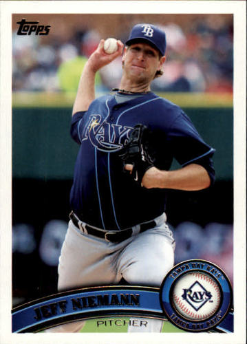 Photo of 2011 Topps #579 Jeff Niemann