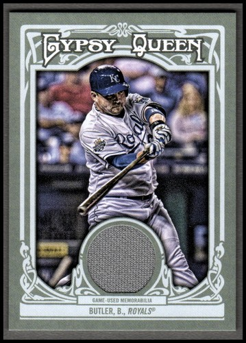 Photo of 2013 Topps Gypsy Queen Relics #BBU Billy Butler
