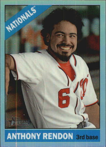 Photo of 2015 Topps Heritage Chrome Refractors #THC461 Anthony Rendon