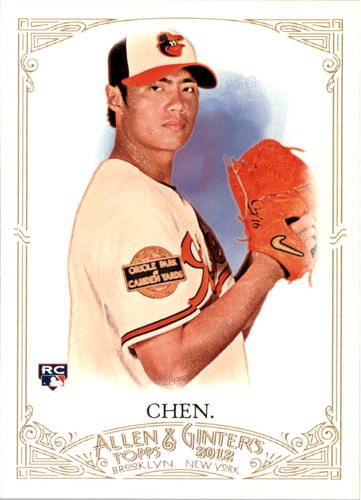 Photo of 2012 Topps Allen and Ginter #178 Wei-Yin Chen RC Rookie Card Baltimore Orioles