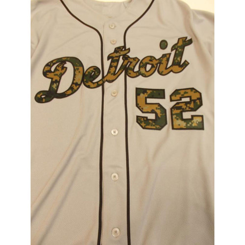 Photo of Game-Used Rich Dubee Memorial Day Jersey
