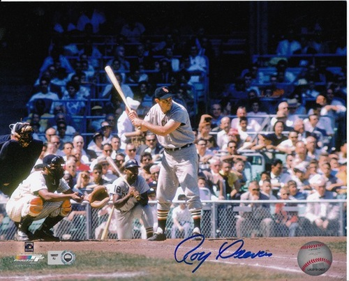 Photo of Roy Sievers Autographed 8x10