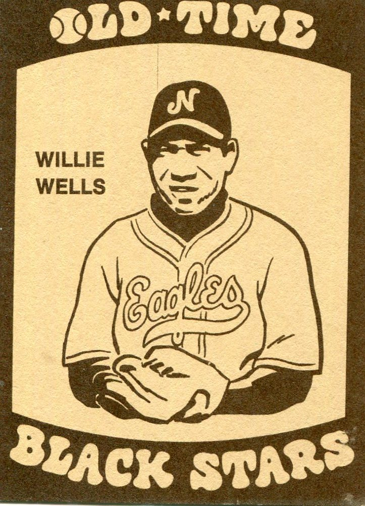 1974 Laughlin Old Time Black Stars #13 Willie Wells