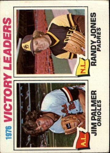 Photo of 1977 Topps #5 Victory Leaders/Jim Palmer/Randy Jones